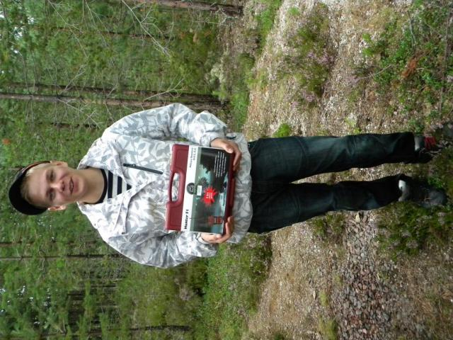 Glad utlottningsvinnare!!, Johan Kajander